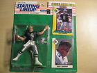 Starting Lineup - Troy Aikman Action Figure - Dallas Cowboys -1993 w/ cards