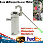Stainless steel manual water pump Domestic well Hand Shake Suction groundwater