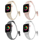 For Apple Watch 38/42mm 4 3 2 Stainless Steel Strap iWatch Bracelet Band Diamond