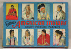 Vtg Famous Native Americans Eight Picture Puzzles in OB Fab Graphics Saalfield