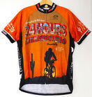 PRIMAL 24 Hours in the Old Pueblo CYCLING JERSEY Full Zip Bike SHIRT MENS LARGE