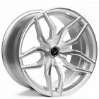 20 Staggered Donz Wheels Riina Silver Rims fit Cadillac CTS Coupe