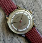 Rare Vintage TOURNEAU Calatrava Sector Dial Mechanical Watch Marvin cal 520S
