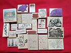 STAMPSCAPES ALEXTAMPING Nature Scenes Wooden Rubber Stamps Mixed New