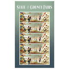 USPS New State and County Fairs Pane of 20