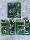 1993 1998 NFL Starting Lineup Emmitt Smith Troy Aikman Cowboys Figures Cards New