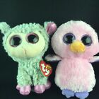 Ty Beanie Boos Posy The Chick Dixie The Lamb Plush Lot Of 2