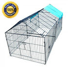 Chicken Kennel Outdoor Pet Playpen Puppy Dogs Rabbit Cage Exercise Enclosure Big