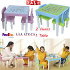 Kids Table and Chairs Play Set Toddler Child Toy Activity Furniture In Outdoor