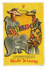 Walt Disneys DUMBO Animation Film Classic Vintage COLOR SPANISH MOVIE HERALD