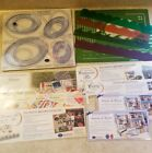 Lot of Creative Memories Embellishment Kits w Stickers Templates  More