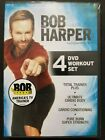 Bob Harper 4 DVD Workout Set Total Trainer+ Ultimate Cardio Body NEW SEALED