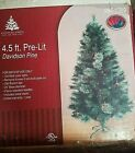 45 Pre Lit Enchanted Forest Multi Color Christmas Tree