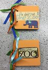 Zoo Albums Mini Premade Albums Kids Zoo Day Keepsake