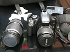 CANON EOS 450D with 18 55mm and EPS 55 250mm Lenses Kit  BAG card 4Gb