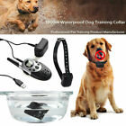 1000 Yard Dog Shock Collar Remote Waterproof Trainer For Large Big Pet Training