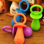 Rubber Pacifier for Pet Toys Dog Cat Puppy Chew Toys with Bell Sound Inside XS