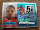 Doug Martin 2012 Topps Chrome Certified Rookie Auto Refractory #1 of 10