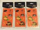 Lot of 3 HALLOWEEN Scrapbooking Sticker Sheets Party Giveaways New Free Ship