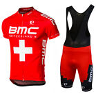 Pro Team Short Sleeve Cycling jersey and bib shorts set MTB quick dry Sportswear