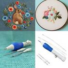 ISHOWTIENDA Hot Pratical ABS Plastic DIY Crafts Magic Embroidery Pen Set DIY
