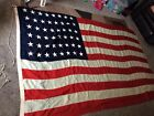 Vintage BARNUMS Special 48 Star American Flag WW2 US All WOOL Double Bunting