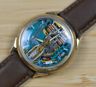 Vintage BULOVA ACCUTRON Spaceview 10kGF 214 Tuning Fork Watch JB Champion Band