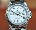 Rolex Explorer II GMT Red Hand White Dial 40mm