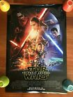 Star Wars The Force Awakens Final One Sheet Poster 2 Sided 27 x 40 2015 Original