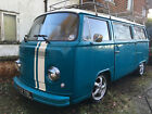 VW 1972 T2 Bay Window Westfalia Camper Van 1776cc Blue Hydraulic Suspension