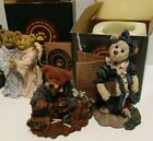 4 Boyds Bears Collectible Figurines Ceramic Vtg Heavenly Friends Momma McBear