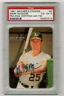 MARK McGWIRE 1987 MOTHER'S COOKIES AUTOGRAPH  SIGNED IN THE BEGINNING !!!
