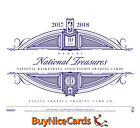 2017-18 National Treasures Basektball Sealed 4 Box Hobby Case - Tatum Mitchell