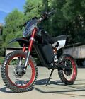 72V 2000W Aluminum Electric Off road Dirt Bike Motorcycle For Adults 35+ MPH