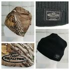 Team Realtree Reversible Beanie Hat Camo Black Ribbed Knit Hunting Winter Toque