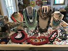 Huge Vintage To New All Wearable Seed Bead Jewelry Lot