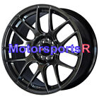 XXR 530 17 Chromium Black Concave Rims Staggered Wheels 93 97 98 Toyota Supra TT