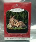 1998 Hallmark Keepsake Ornament Timber Wolves at Play Majestic Wilderness NEW!
