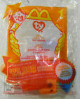 MCDONALDS HAPPY MEAL TOY : TY BEANIE BABY - LIPS THE FISH #1 2000 NEW/SEALED