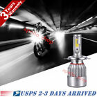 H4 9003 HB2 LED Bulb High Low Beam HID White Motorcycle Headlight High Power PO