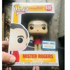 Funko Pop Mr. Rogers 635 with King Hand Puppet Barnes Noble Exclusive