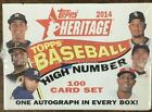 2014 Topps Heritage High Number Baseball Factory Sealed Set