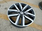 18 VW Volkswagon Jetta Golf Rabbit OEM 2018 2019 black wheel rim 69941 OE 5x112