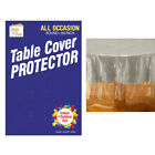 Clear Plastic Tablecloth Protector Table Cloth Vinyl 60 Round Cover Transparent
