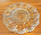 Vintage Clear Glass Deviled Egg Plate 10