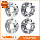 4PCS HUB CENTRIC Wheel Spacers Adapters 5x45  15MM For HONDA Civic CR V CRV