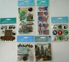 Jolees Boutique Scrapbooking Stickers Lot NEW YORK City Times Square
