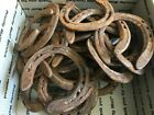 16 Various Sizes Rusty Dust No Nails Horseshoes Good Condition for Art