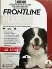 NEW Frontline Plus Flea  Tick Treatment for Dogs 89 132lbs 40 60kg 6 doses