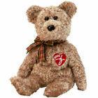 TY 2002 Signature Beanie Baby Bear MWMT 10th Gen Retired with Tag Protector